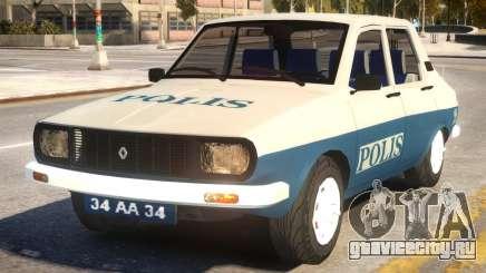 Renault 12 Police для GTA 4