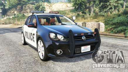 Volkswagen Golf (Typ 5K) LSPD v1.1 [replace] для GTA 5