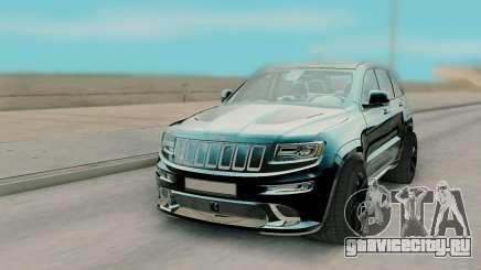 Jeep Grand Cherokee SRT8 Black для GTA San Andreas