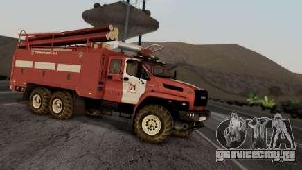 Ural Next Firetruck для GTA San Andreas