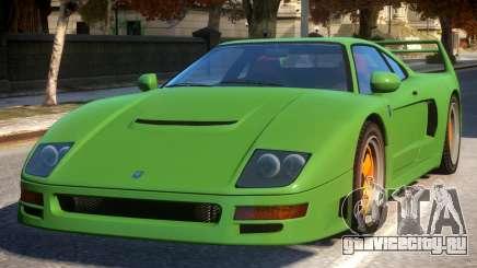Grotti Turismo Classic Revision Modern Rims для GTA 4