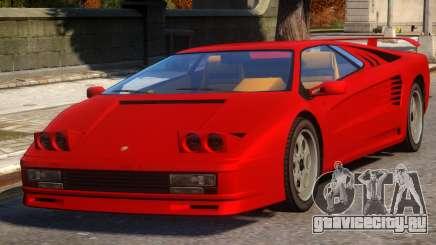 Pegassi Infernus Pop-Up Lights Up для GTA 4