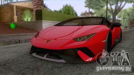 Lamborghini Huracan Performante Spyder 2019 для GTA San Andreas