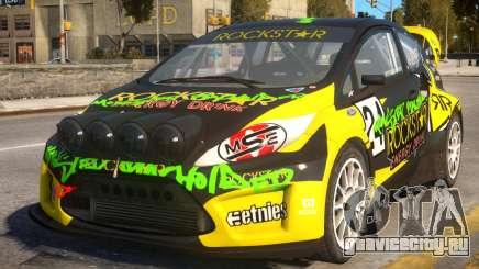 Ford Fiesta Rallycross (DiRT3) для GTA 4