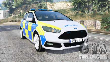Ford Focus ST Turnier (DYB) Police [replace] для GTA 5