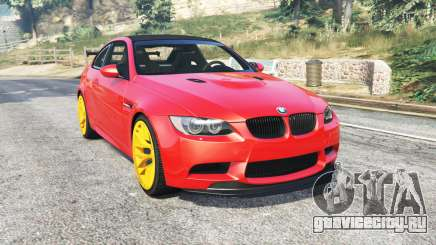 BMW M3 GTS (E92) 2010 red taillight [add-on] для GTA 5