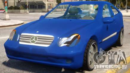 Mercedes-Benz C220 Sports Coupe для GTA 4