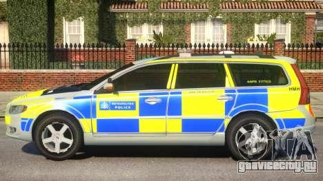 Volvo V70 ANPR Interceptor для GTA 4