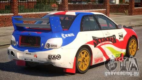Subaru Impreza WRX V1.2 для GTA 4