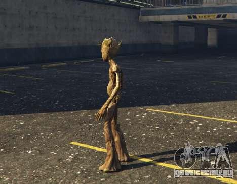 Teen Groot (Avengers Infinity War) 1.0 для GTA 5