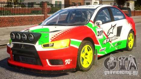 Mitsubishi Lancer EVOX PJ1 для GTA 4