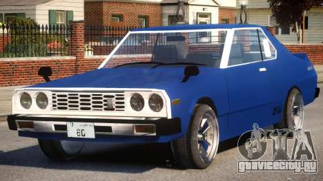 Datsun Skyline 1980 GT для GTA 4
