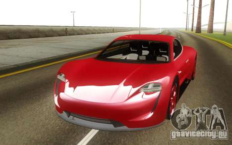 Porsche Mission E Hybrid Concept для GTA San Andreas