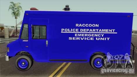 RPD Van Swat RE3 для GTA San Andreas