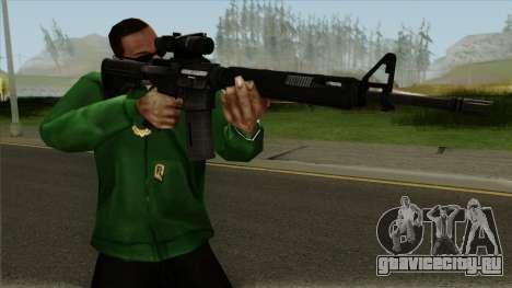 M4AR15 ACOG для GTA San Andreas