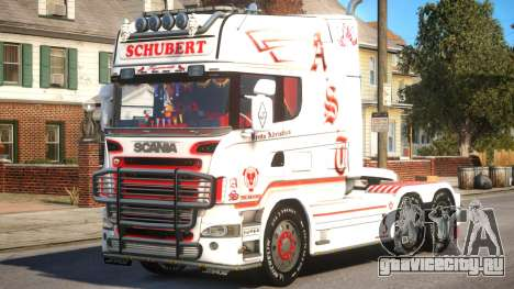 Scania R580 Longline Custom PJ16 для GTA 4