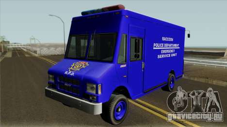 RPD Van Swat RE3 для GTA San Andreas