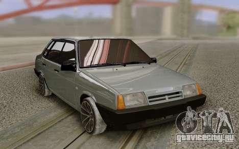 ВАЗ 21099 на дисках R18 для GTA San Andreas