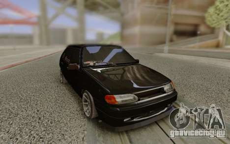 ВАЗ 2114 без заднего бампера для GTA San Andreas