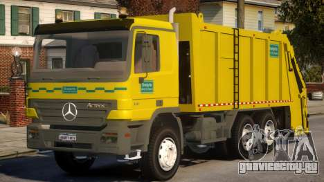 Garbage Truck для GTA 4