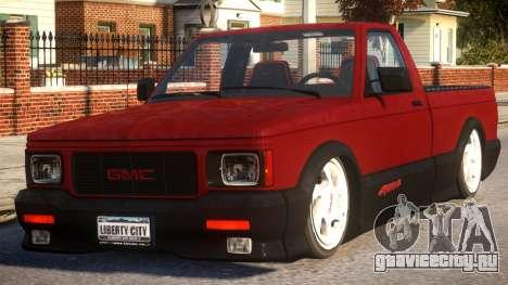 GMC Syclone для GTA 4