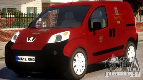 Peugeot Bipper Royal Mail для GTA 4