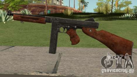 Thompson M1A1 SMG V2 для GTA San Andreas
