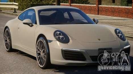 2017 Porsche 911 Carrera S для GTA 4