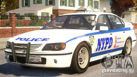 Police Patrol New York для GTA 4