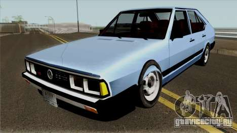 Volkswagen Passat Pointer LSE Iraque 1984 для GTA San Andreas