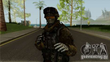 Multicam Ranger from Call of Duty: MW2 для GTA San Andreas