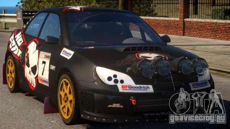 Subaru Impreza WRX для GTA 4