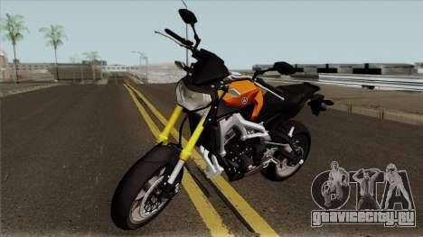 Yamaha MT 09 для GTA San Andreas