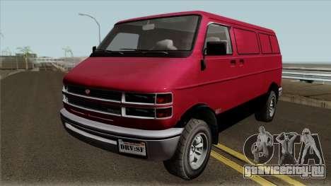 Bravado Youga GTA V IVF для GTA San Andreas