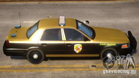 Maryland Crown Victoria для GTA 4