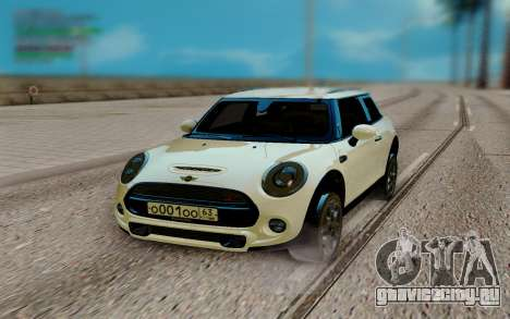 Mini Cooper S White для GTA San Andreas