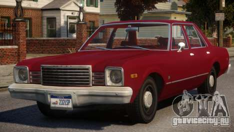 1979 Dodge Aspen для GTA 4