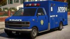 Police NYPD Van для GTA 4