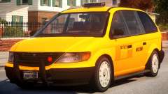 Cabbie New York City для GTA 4