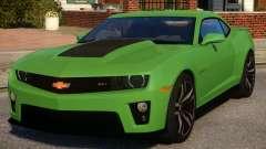 Chevrolet Camaro ZL1 V1.3 для GTA 4