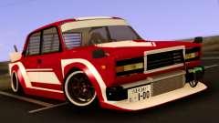 VAZ 2107 Bosozoku Style для GTA San Andreas
