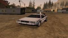 Delorean DMC-12 Back To The Future 2 для GTA San Andreas
