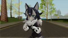 Kemono Friends Gray Wolf (01) для GTA San Andreas