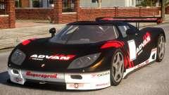 Koenigsegg CCGT (GRID) для GTA 4
