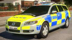 Volvo V70 ANPR Interceptor для GTA 4