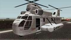 Cargobob Jetsam GTA V для GTA San Andreas