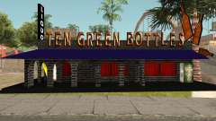 New Ten Green Bottles and Bar Interior для GTA San Andreas