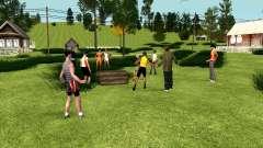 Вечеринка в деревне (GTA Криминальная Россия) для GTA San Andreas