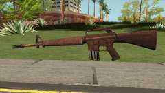 M16 Skullpiercer from Call Of Duty Z для GTA San Andreas