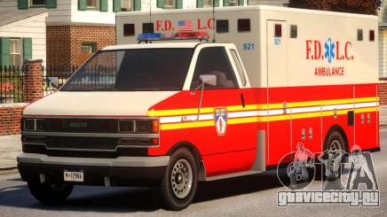 Ambulance FDLC для GTA 4